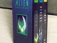 ALIEN TRILOGY -- VHS COLLECTOR PACK $9 This is a