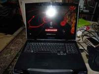 M17x AlienWare laptop. only a year and a half old. i
