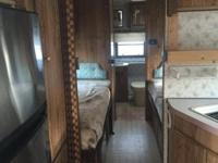 This is a cold climate 1987 camper that sleeps 7-8