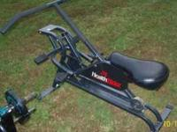 4 pieces of exercise equipment in good condition. BUY