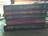 "I'm selling the ""Percy Jackson and the Olympians"""