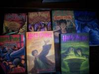 All 7 Harry Potter Books in Hard Cover. All in