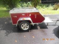 All Aluminium Bike Pull Trailer Like new $1500. Call