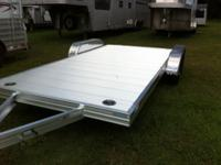 Aluminum Car Hauler 18' Deck including 4' Beavertail