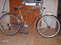 Here we have a all chrome schwinn reproduction