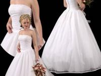 Done in stock wedding event gown $50.00 Hurry while