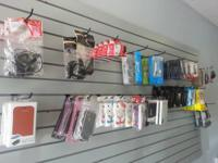 We have all kind of mobile accessories and laptops.