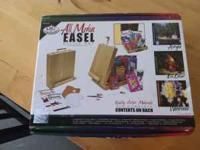 Brand new, never used, All Media Easel Artist Set by