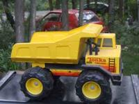 i have a tonka dump truck for 10.00 steve  Location: