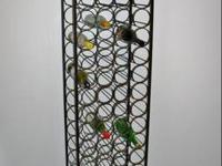 Wine Rack holds 67 bottles of your finest wines. This
