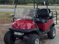 This cart is very nice and fast..has all new parts