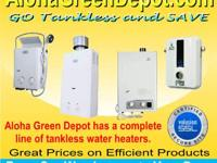 The Eccotemp L7 Portable Tankless Water Heater is the