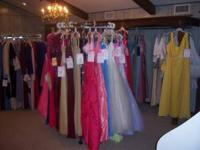 OUR COMPLETE INVENTORY OF BEAUTIFULL PROM DRESSES ON