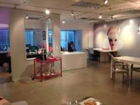 1,400 sq ft office space available for full sublet, or