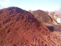 all MULCH -red-black-dark brown- all natural -dark red