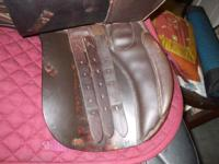 This Jorge Canaves saddle was made by Thornhill and is