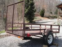 All heavy duty steel construction (no wood) Solid steel