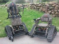 Action Track Chair All-Terrain Wheelchair. The Action