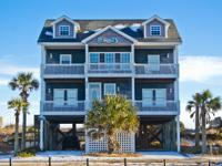 Beautiful Oceanfront Home on Topsail Island loaded with
