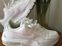 - All white Nike Air Max LTD - Brought it for $125 -