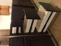 NEW- All Wood Constructed Cabinets for Sale-EVERYTHING