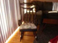 All Wood Rocking Chair. Call Pat ...Australia 265