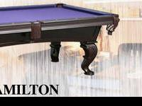 Raleigh The Best Solid Wood Slate Pool Tables