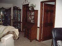 All Wood Walnut Secretary Desk that is in great