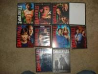 Im selling my complete series of Smallville dvd