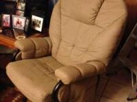 I have two all leather rocker/recliners that also