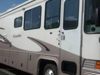 1998 Allegro Bay Pusher motorhome. This coach has been
