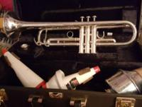 Have an intermediate level silver Allegro trumpet with