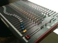 I have a recently purchased Allen and Heath zed22fx