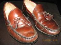 "ALLEN EDMONDS BROWN DRESS SHOE. ""COVENTRY"" MODEL."