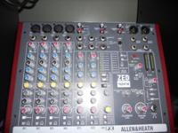 Allen & Heath ZED 10 FX 10-Channel Multipurpose USB