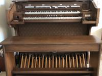 A beautiful Allen one owner organ.  It is in perfect