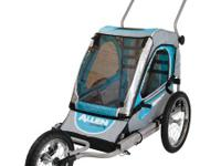 Allen Sports SST1 Steel 1-Child Jogger & Bicycle
