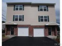 East Allentown Twin brand new construction ... 100%