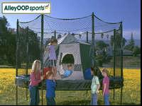 AlleyOOP Sports Trampoline Tent. In great