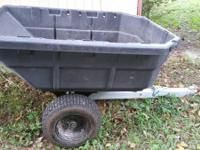 AllFit HD 12.5 cu ft. dump cart-- $150 or best offer.