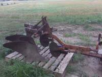 2bottom plow and cultivator  Location: evansville