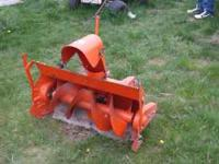 Allis Chalmer Snow Blower, Good Shape. $100 o.b.o.