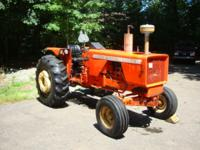 Allis Chalmers 175 Gas. 1974. 2nd owner. Lots of work