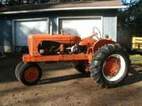 Make : Allis Chalmers Year : 1948 Serial # 0254 Area :