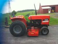 Allis Chalmers tractor for sale. 2 wheel drive 22