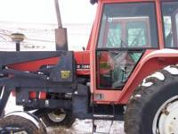 We have a nice Allis Chalmers 6080 cab tractor with an