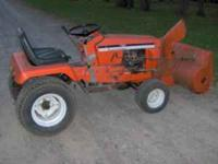 Selling 716H Allis Chalmers Riding Mower 16hp Kohler