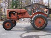 Tractor has been in dry storage for years without being