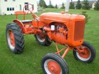 Good running Allis B with newly overhauled engine. Has