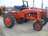 Allis Chalmers C good paint and rubber,runs good $1400